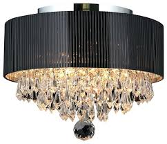 drum shade crystal chandelier drum shade chandelier with crystals dining