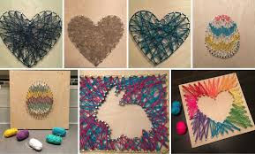 Get a group of girlfriends together for a craft night and try this easy DIY  project