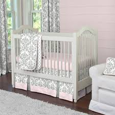 crib bedding 28 images pink and taupe damask crib