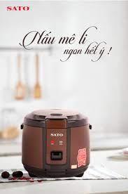 Nồi cơm điện SATO 18F052 – Nấu mê li, ngon hết ý