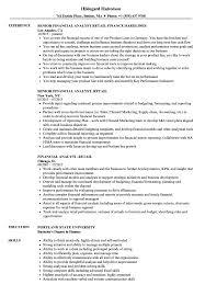 resume of financial analyst financial analyst retail resume samples velvet jobs
