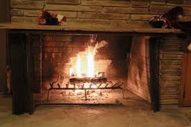 wood burning fireplace with a gas starter picture topfireplaces com