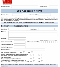 Employee Application Form Word Employee Application Form Income Tax Job Malaysia Template