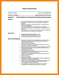 10 Automotive Technician Resume Letter Of Apeal