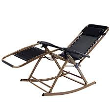 back pain chairs. PartySaving Infinity Zero Gravity Rocking Chair Outdoor Lounge Patio Folding Reclining Back Pain Chairs