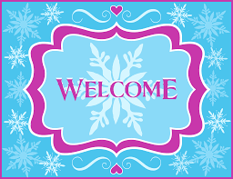 Free Printable Welcome Cards Free Frozen Party Printables From Printabelle Catch My Party