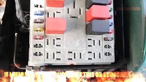 fiat punto relays fusebox youtube Fiat Punto Grande Fuse Box Layout fiat punto relays fusebox fiat punto grande fuse box location