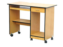 office side table. Side Table Computer Office Furniture. Furniture: Startling Small Desk On Wheels Casters From O