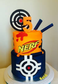 Best 25 Nerf gun cake ideas on Pinterest