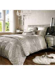 kylie minogue at home esta oyster duvet cover polyester ivory super king