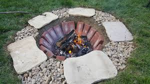 brick fire pit ideas interior and outdoor architecture ideas