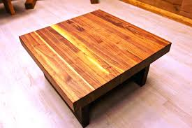 solid oak coffee tables table real wood cherry side uk