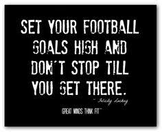 Football Dream Quotes Best of 24 Best Football Posters Images On Pinterest Football Posters