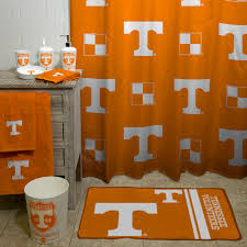 ncaa university of tennessee decorative bath collection shower curtain com