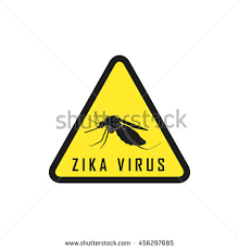 symbol attention zika virus mosquito icon vector ilration