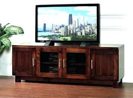 Mission Style Tv Console Wooden Stand – Jonnahtan