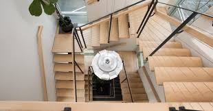 Square Spiral Staircases