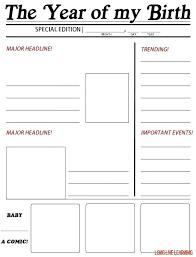 Kids Newspaper Template Blank Newspaper Template Printable For Kids Free Wordpress Gratis