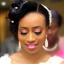 white wedding makeup in nigeria photo 1