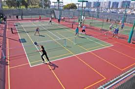 pickleball court size pickleball finds a home on new existing outdoor courts athletic