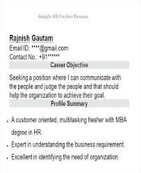 sample hr resumes for freshers sample hr resume sap hr sample resumes  freshers . sample hr resumes for freshers ...
