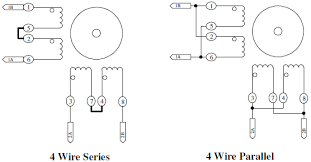 4 wire series parallel stepper motor wiring configuration 4 wire series parallel motor wiring configuration