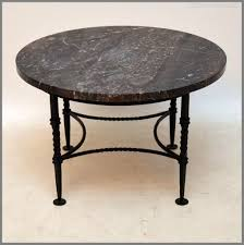 antiques atlas marble wrought iron coffee table wrought iron side table with wood top