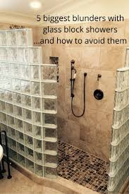 Do you think glass block showers and shower pans are difficult to figure  out. The