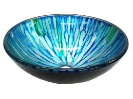 glass vessel sinks from just 65 blue and green magnolia glass vessel sink
