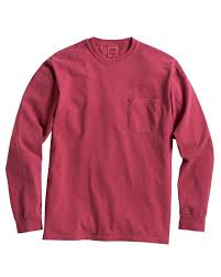 Comfort Colors 4410 Long Sleeve Pocket T Shirt