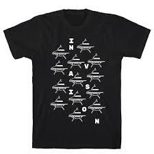 ufo invasion mens t shirt