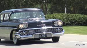 1958 Chevy BelAir Custom Kruisin' - YouTube