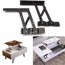 2pcs lift up top coffee table lifting frame mechanism spring hinge har
