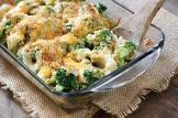 broccoli au gratin  simple and easy