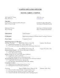 Cover Letter Cover Letter For Higher Education Cover Letter