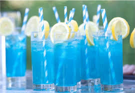 Blue And Punch Bowls And Blue Brown On PinterestBlue Punch For Baby Boy Shower