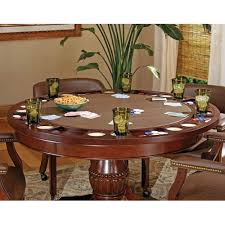 steve silver company tournament 50 inch round game table
