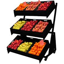 Fruit And Veg Display Stands Cool Fruit Veg Display MaxShelf