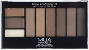 makeup academy mua brow pro plete kit mid dark