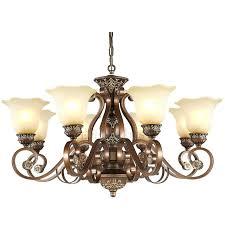 chandelier black wrought iron black fixture 8 light