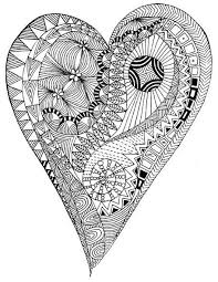 Small Picture Heart coloring pages for adults ColoringStar