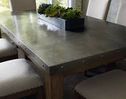 Beautiful Decoration Stainless Steel Dining Table Top Shocking Stainless Steel Top Dining Table