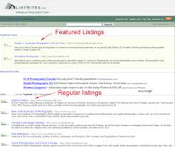 a list sites submit your link to com sample listing location