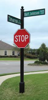 Decorative Sign Posts Outdoor Message Center Community Bulletin Board 50