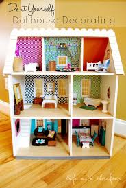 homemade doll furniture. Life As A Thrifter: Dollhouse Details: DIY Wall Art Homemade Doll Furniture F