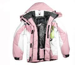 Spyder Jacket Size Chart Spyder Women Ski Jacket Pink