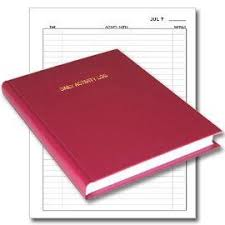 Bookfactory Daily Activity Log Book 365 Day Log Book 365 Page