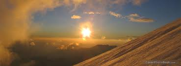 Sun Cover Photo Sky Mountain Sun Facebook Cover Nature
