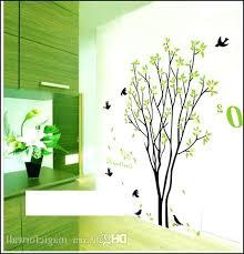 lime green wall art stickers metal uk