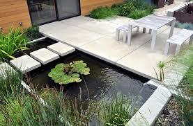 creating a garden pond original ideas